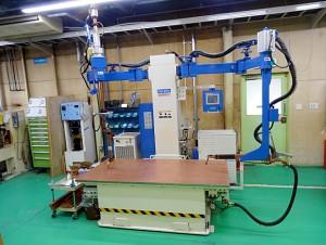 テーブルスポット溶接機:2014年  向洋技研製 NK-03HEV100-20-WKG-EG型