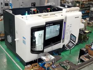 複合NC旋盤(5軸加工):2015年  DMG MORI製 NTX2000/1500S型(第二主軸付き)